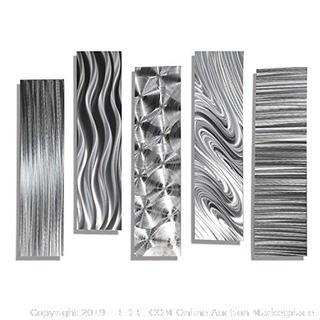 statements2000 silver metal art (online $165)