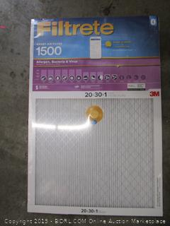 3M Filtrete Smart Air Filter 20x30x1