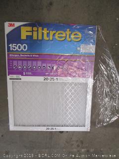 3M Filtrete House Air Filter 20x25x1