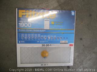 3M Filtrete Smart Air Filter 20x20x1