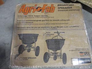 Agri-Fab 45-0462 Push Broadcast Spreader ($162 Retail)