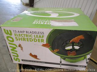 SanJoe Electric Leaf Shredder