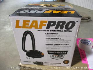 LeafPro Universal Collection System
