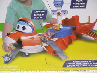 Super Wings- Jett's Takeoff Tower Toy