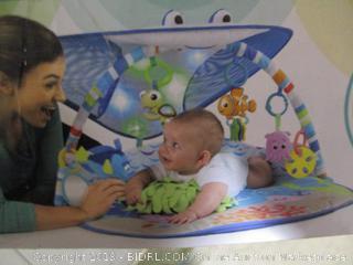 Disney Baby- Bright Starts- Finding Nemo Mr. Ray Ocean Lights & Music Gym (missing canopy)