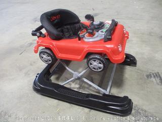 Delta Children- Jeep Wrangler 3 in 1 Grow with Me Walker- Red
