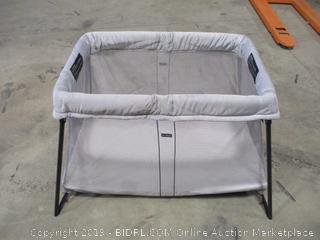 BabyBjorn- Travel Crib Light- Silver (Retails $299)