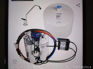 Home Master-HydroPerfection Undersink Reverse Osmosis Water Filter System ( Retails $435)