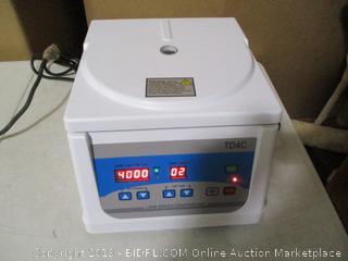 PRP Centrifuge-TD4C Medical Beauty Blood Centrifugal Machine ( Retails $389)