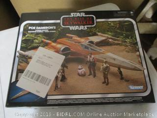 Star Wars- The Rise Of Skywalker Vintage Collection- Poe Dameron's X Wing Fighter