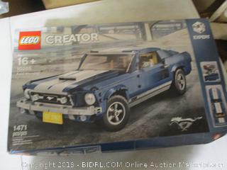 Lego- Creator Expert Ford Mustang 10265 Building Kit- Sealed