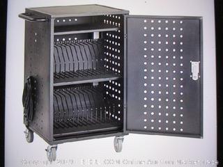 ECR4Kids-30 Bay Locking Laptop and Tablet Charging Station Cart ( Retails $399)
