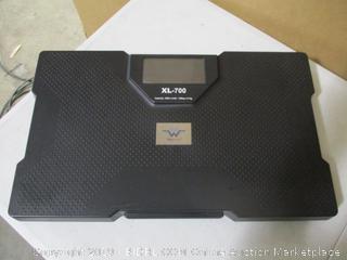 My Weigh Xl-700 Talking Bathroom Scale (700lb Capacity)