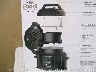 Ninja - Foodi Pressure Cooker with TenderCrisp (Powers On)