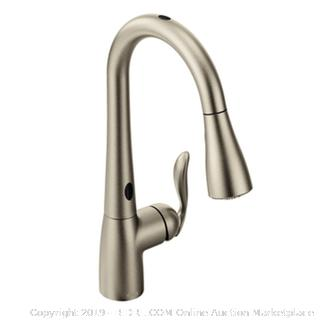 Moen - Arbor Single Handle/Hole Pull-Down Kitchen Faucet with MotionSense (Spot Resist Stainless)