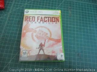 XBOX 360 Red Factory Guerrilla Factory Sealed