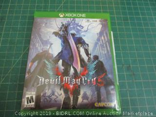 XBOX ONE Devil May Cry 5 Factory Sealed
