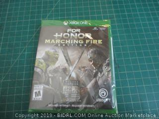 XBOXONE For Honor Marching Fire Factory Sealed