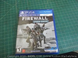 PS4 Firewall Zero Hour