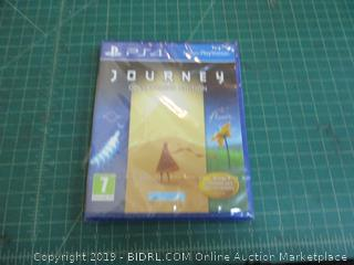 PS4 Journey Collector's Edition Factory Sealed