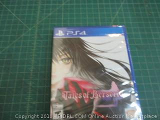 PS4 Tales of Berseria factory Sealed
