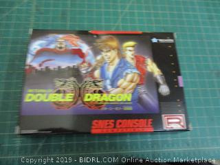 Return of Double Dragon Snes Console Compatible