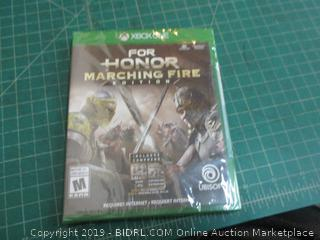 XBOXONE for Homor Marching Fire edition Factory Sealed