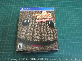 PS4 Little Big Planet 3 Plush Edition Factory Sealed