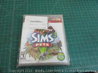 The Sims 3 Pets Limited Edition PS3 factory sealed
