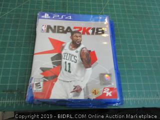 PS4 NBA2K18