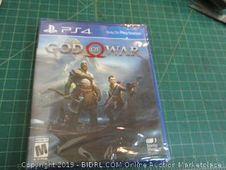 PS4 God of War Factory Sealed