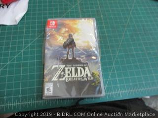 Nintendo Switch the Legend Of Zelda Breath of the Wild factory sealed
