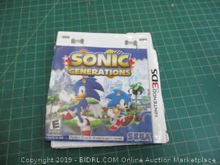 Nintendo 3DS Sonic Generations