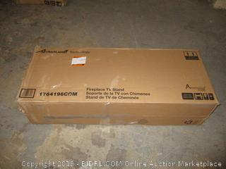 Altra Flame technology fireplace TV stand