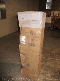"Zinus 12"" full size memory foam, pressure relief green tea mattress"