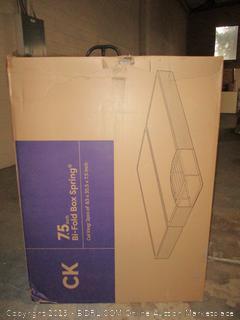 "7.5"" bi-fold box spring - Cal King"