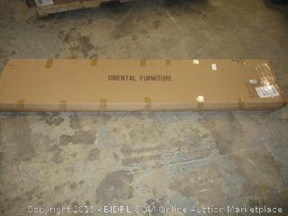 Oriental furniture item