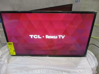 "TCL Roku TV 32"" Powers on in box"