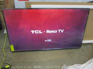 "TCL Roku TV  65"" Power On/ In Box"