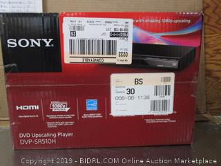 Sony DVD Upscaling Player