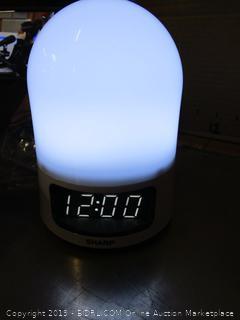 Sharp Sunrise Simulator Alarm Clock