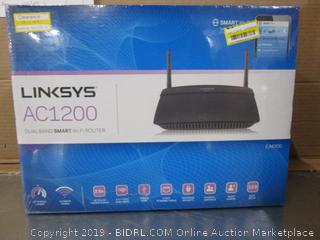 Linksys Dual Band Smart Wifi Router