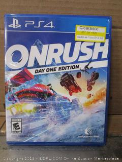 PS4 OnRush Game