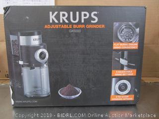 Krups Adjustable Burr Grinder