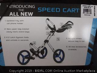 Sun Mountain Golf 2019 Speed Cart GX 3 Wheel Push Cart (Online $249)