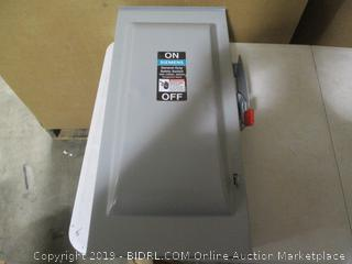 Siemens- Non Fusible General Duty Safety Switch