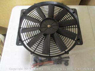 Flex A Lite Part No.11424- 24 Volt Trimline Electric Fan