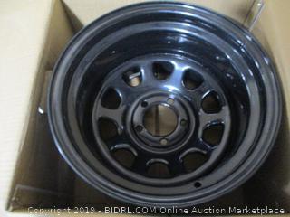 Pro Comp Wheels Rock Crawler Series 51 Black Wheel (15x10 5x4.5)