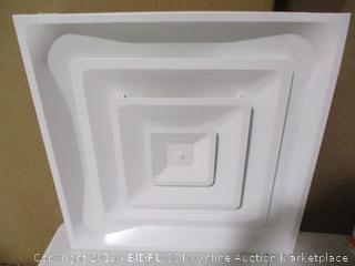 Accord Ventilation Products- T Bar 3 Cone Diffuser (2' x 2')