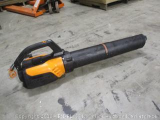 Worx WG510- TurbineFusion 12 Amp Electric Leaf Blower/ Mulcher/ Vacuum